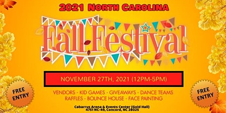 2021 North Carolina Fall Festival tickets