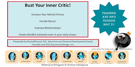 Bust Your Inner Critic with a Mental Fitness and Mindfulness Boot Camp tickets