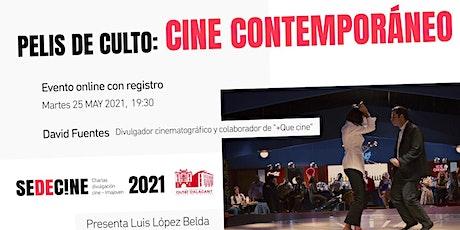 """charla """"Películas de culto en el Cine Contemporáneo"""" ingressos"""