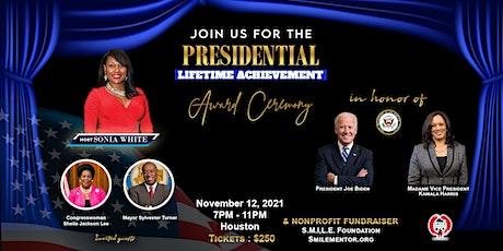 Presidential Lifetime Achievement Volunteer Awards tickets