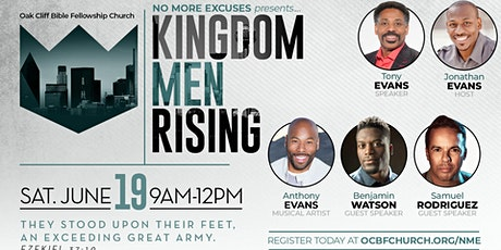 Virtual No More Excuses Men's Conference tickets