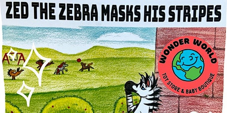 "[FREE] ""Zed the Zebra Loses His Stripes"" Book Reading & Craft tickets"