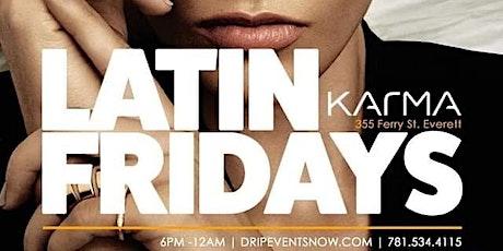 LATIN FRIDAYS | 6pm-12am | KARMA LOUNGE{EVERETT} tickets
