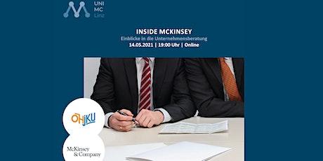 Inside McKinsey: Einblicke in  die Unternehmensberatung Tickets
