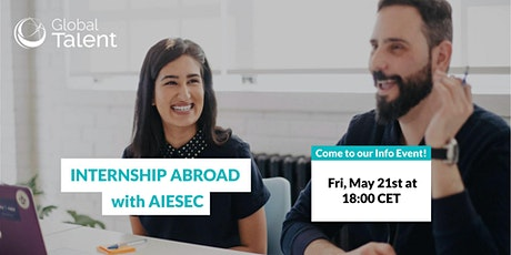 Internship Abroad with AIESEC tickets