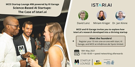 Startup Lounge #86 - Science Based AI Startups: The Case of Istari.ai Tickets