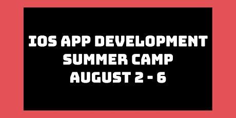 iOS App Development Summer Camp: August 2nd - 6th tickets