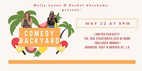 Comedy Backyard tickets
