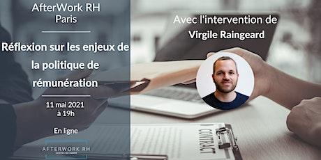 AfterWork RH Paris - Réflexion sur la politique de rémunération billets
