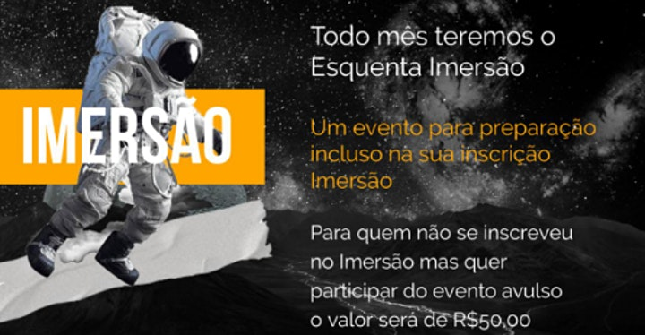 Imagem do evento Imersão 2021