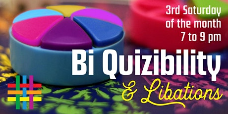 VIRTUAL Bi Quizibility & Libations: Bisexual+ Trivia Game by BiRequest tickets