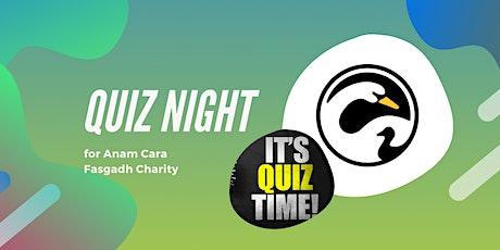 Anam Cara Fasgadh Charity Family Quiz tickets