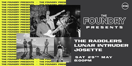 The Raddlers w/ Lunar Intruder & Josette tickets