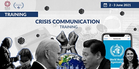 Crisis Communication Training - RAIA Group & World Youth Academy tickets