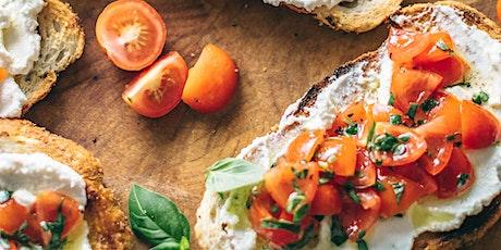 Caedmon School: Online Cooking Montessori Style (Ages 1-7): Bruschetta!! tickets