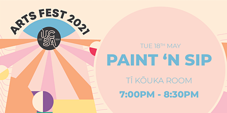 UCSA Arts Fest | Paint and Sip tickets