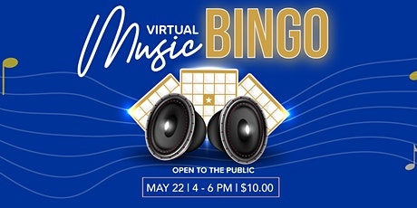 Virtual Music Bingo tickets