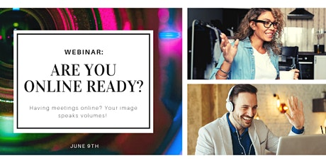 Are You Online Ready? Webinar - June 9th, 2021 tickets