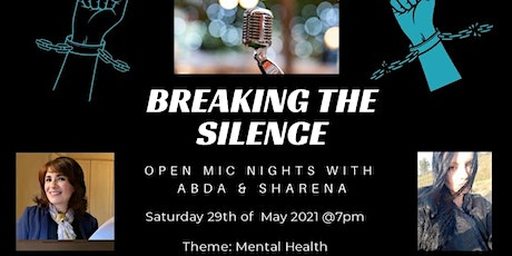 Breaking the Silence – Open Mic - Mental Health tickets
