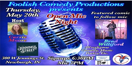 Open Mic Night @Jennings Street Public House tickets