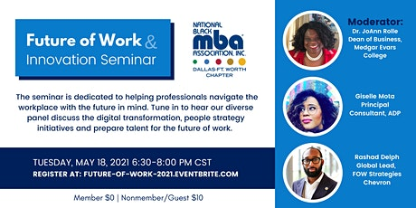 Future of Work and Innovation Seminar tickets
