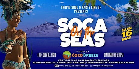 SOCA ON THE SEAS tickets