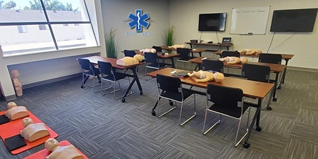 Coral Springs cpr aed first aid bls certification class tickets