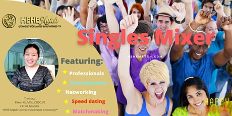 Singles Mixer ----Toronto Single  Professionals (Age 35-  49) tickets