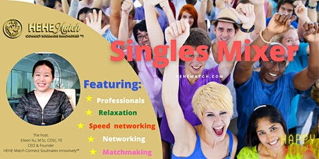 Singles Mixer ----Toronto Single  Professionals (Age 40+) tickets