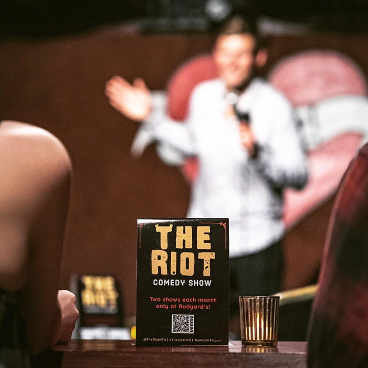 "The Riot Comedy Show presents ""Chicken & Tacos"" w/ Jeff Joe & Jessi Saldaña image"