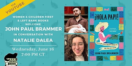 Virtual Author Conversation for ¡HOLA PAPI! by John Paul Brammer tickets