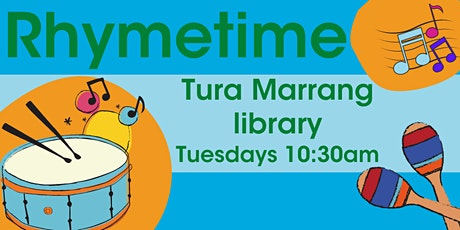 Rhymetime at Tura Marrang Library tickets
