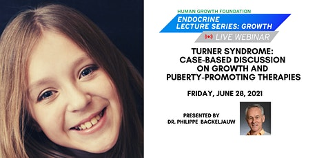 Turner Syndrome: Discussion on Growth &  Puberty-Promoting Therapies tickets