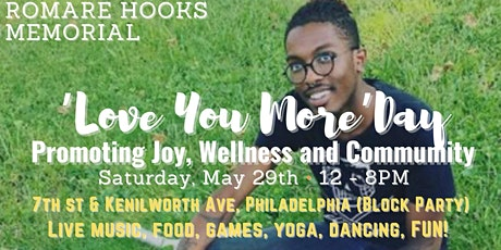The Romare Hooks 'Love You More Day - Celebrating Well-Being & Joy tickets