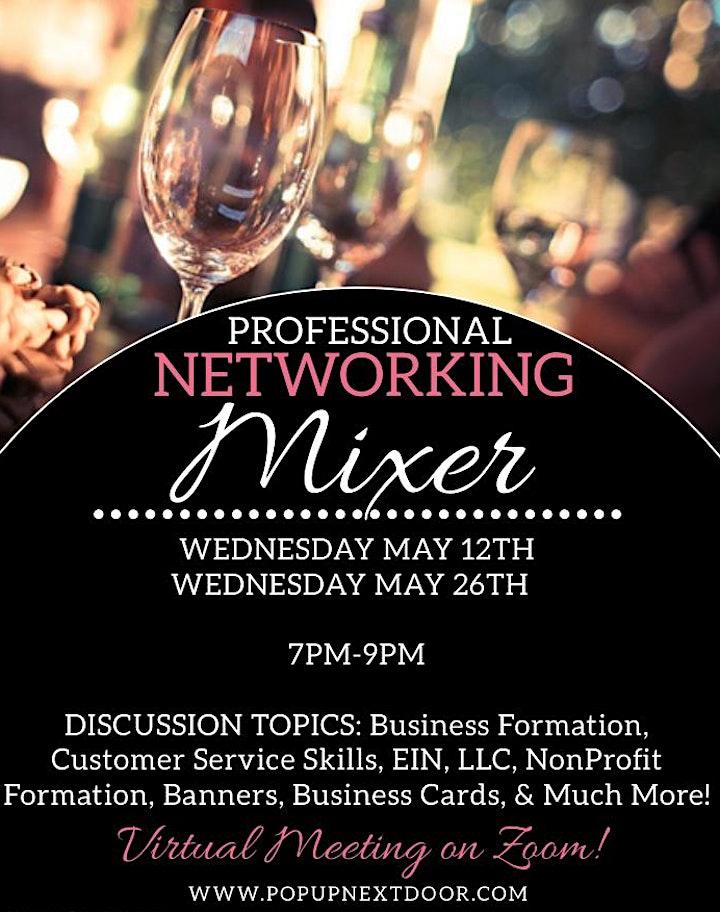 Professional Networking Mixer (VIRTUAL) image