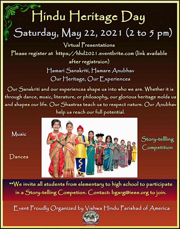 Hindu Heritage Day 2021 image