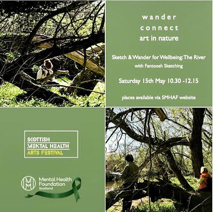 Sketch & Wander for Wellbeing: (SMHAF) 2021 image