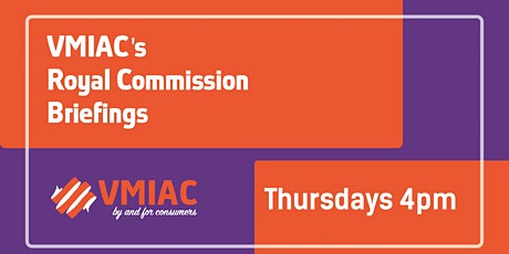 VMIAC RC Briefings: The Mental health Impacts on Women tickets