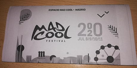 Mad Cool festival entradas