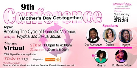 2021 Women of Vision  Conf. (Mother's Day Get Together) tickets