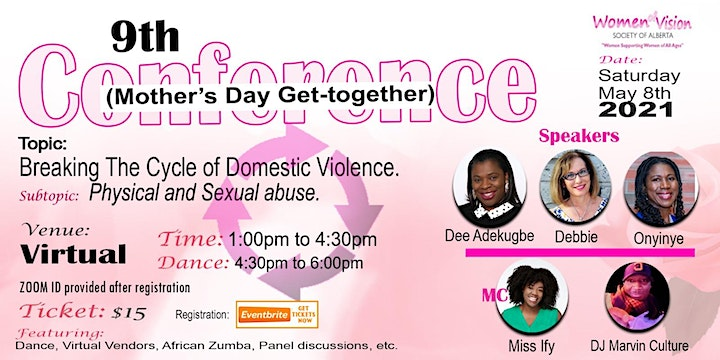 2021 Women of Vision  Conf. (Mother's Day Get Together) image