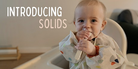 Introducing Solids by dietitian Courtney Bates tickets