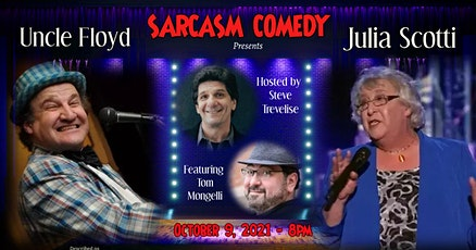 Comedians Uncle Floyd and Julia Scotti tickets