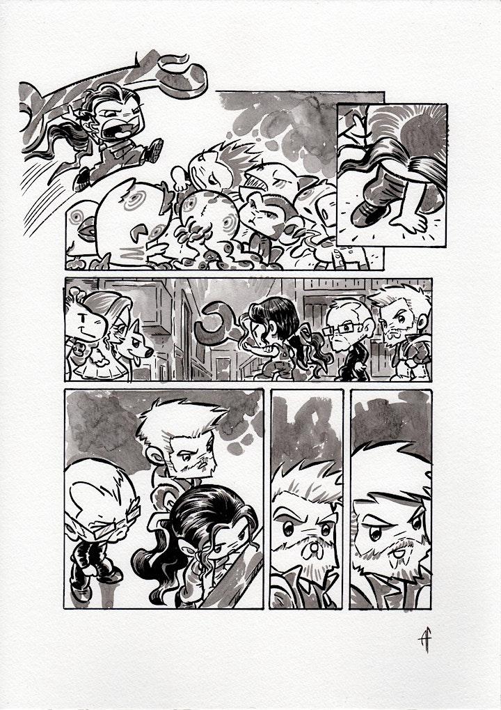 Immagine Fare fumetti con Samuel Stern e i MoFtri