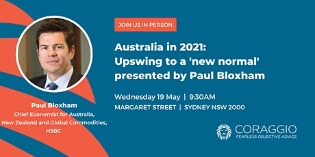 Australia in 2021: Upswing to a 'new normal' presented by Paul Bloxham tickets