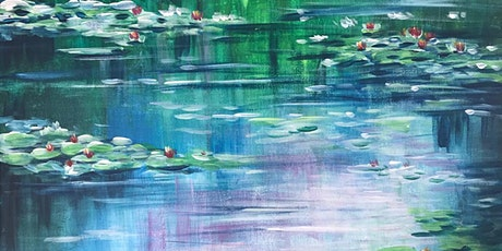 Chill & Paint Friday Night at  Auck City Hotel  - Monet Water Lily! tickets