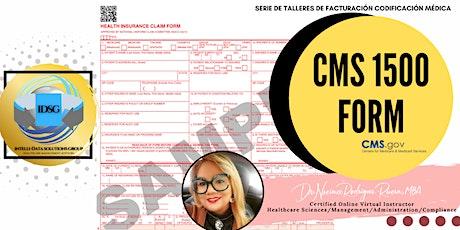 Webinar sobre Preparación de Formulario CMS 1500 tickets