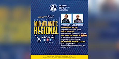 Full Gospel Mid-Atlantic Regional Summit 2021 tickets