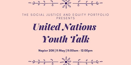 United Nations Youth Talk tickets