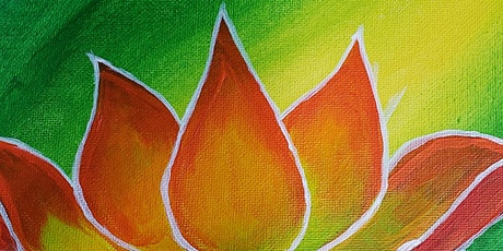 Free Virtual Painting Class - Lotus Flower tickets